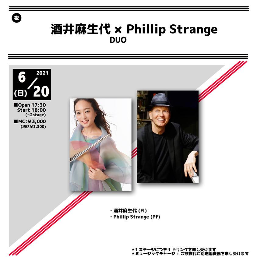 酒井 麻生代 & Phillip Strange Duo
