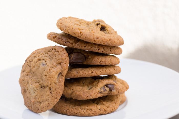 Chocolate Chip Cookies (w/espresso)