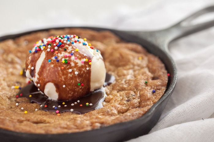 Skillet Cookie for Two