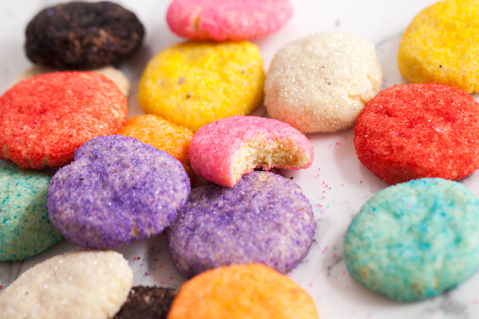 Sparkly Soft Sugar Cookies
