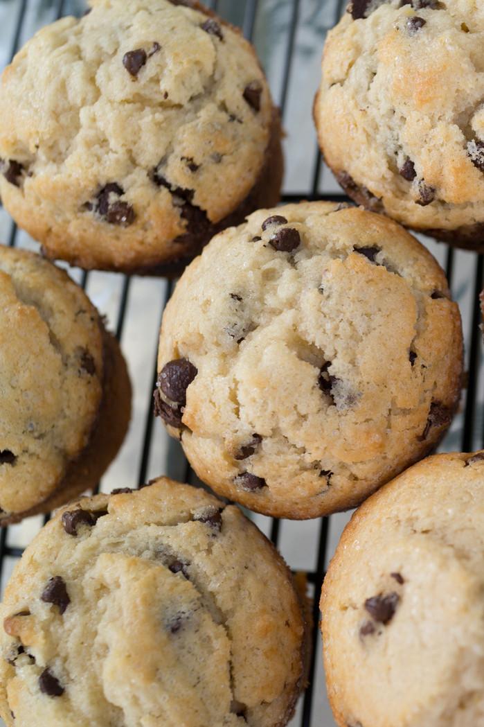 Chocolate Chip Buttermilk Muffins