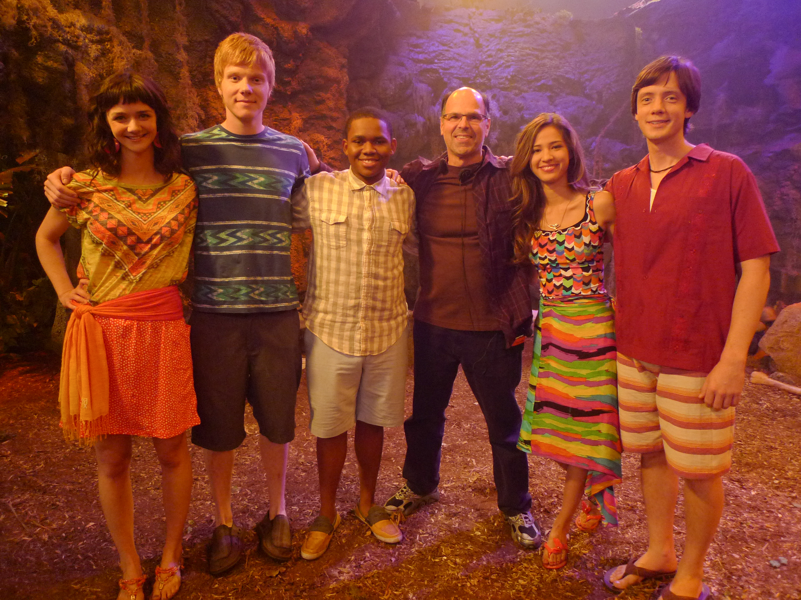 Pair of Kings behind the scenes