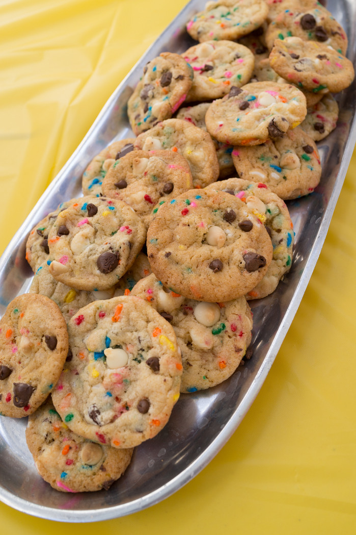 Cake Batter Funfetti Chocolate Chip Cookies