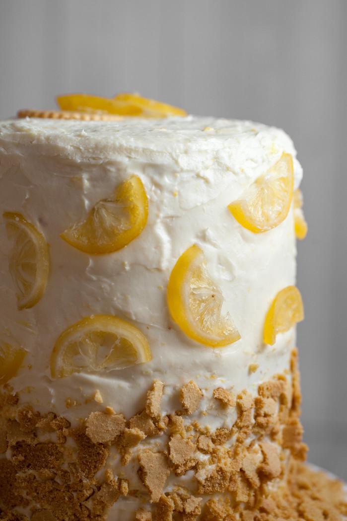Lemon On Lemon On Lemon Cake