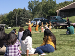 Sharing ancient tales through dance