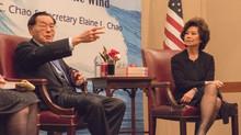 与赵小兰部长探讨教育与领导力