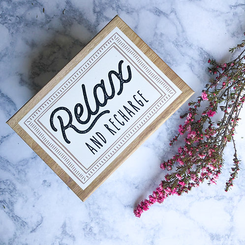 Relax and Recharge