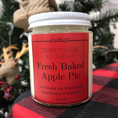 6.5oz Fresh Baked Apple Pie