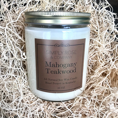 16oz Mahogany Teakwood