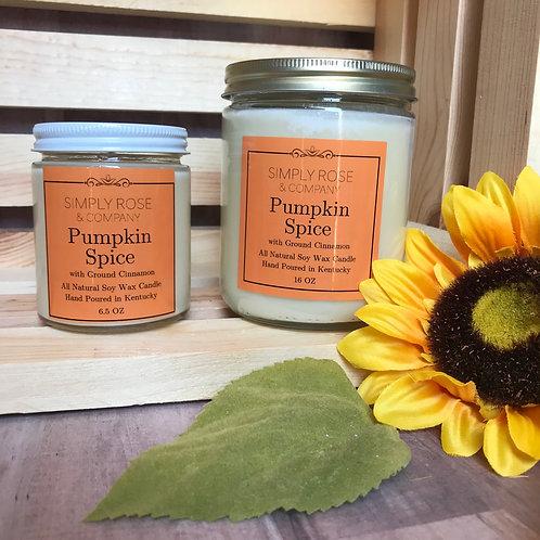 6.5oz Pumpkin Spice
