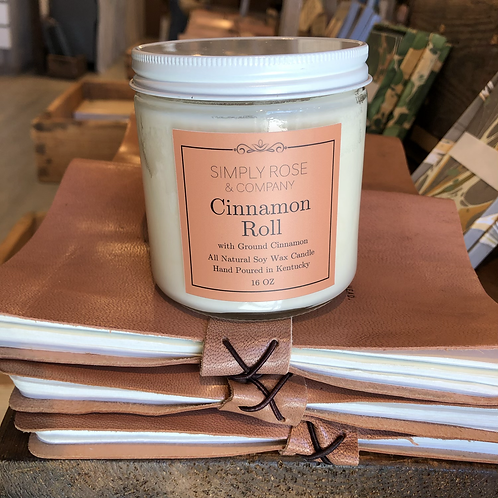 16oz Cinnamon Roll