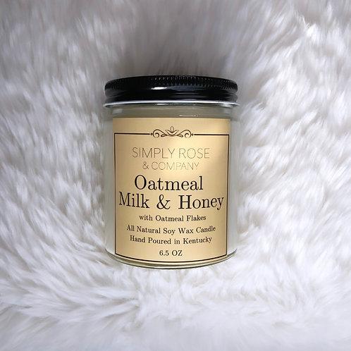 6.5oz Oatmeal Milk & Honey