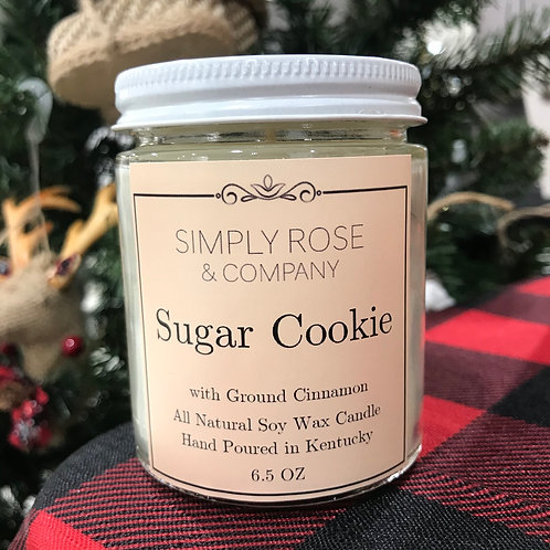 6.5oz Sugar Cookie