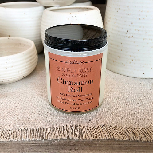6.5oz Cinnamon Roll