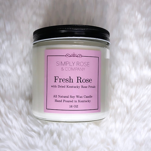 16oz Fresh Rose