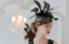 Tracy Chaplin, milliner, designs couture hats, fascinators, cocktail hats, hat designs can be made to order