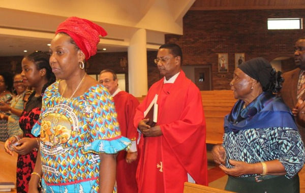 African-American mass celebration