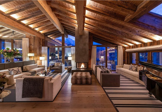 Elysian collection - Chalet Les Anges // Photography by Yves Garneau