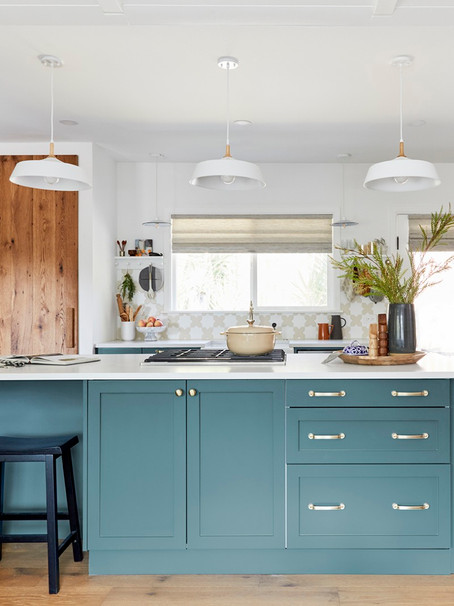 A $25 Find Made This Pro Chef Couple's IKEA Kitchen Feel Custom - Domino