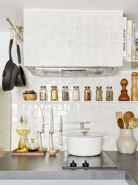 Supersized Storage in a Tiny Kitchen - The Organized Home