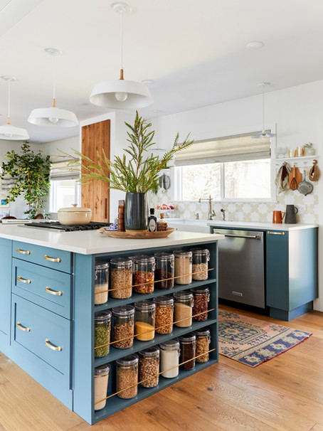 This European-Inspired Kitchen Is the Definition of Luxe On a Budget - SemiStories