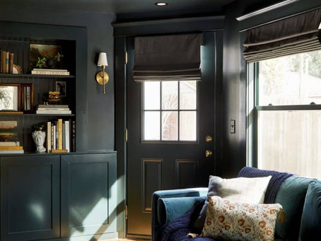 The Full Reveal – Window Treatments for a Classic Craftsman - Decoreview