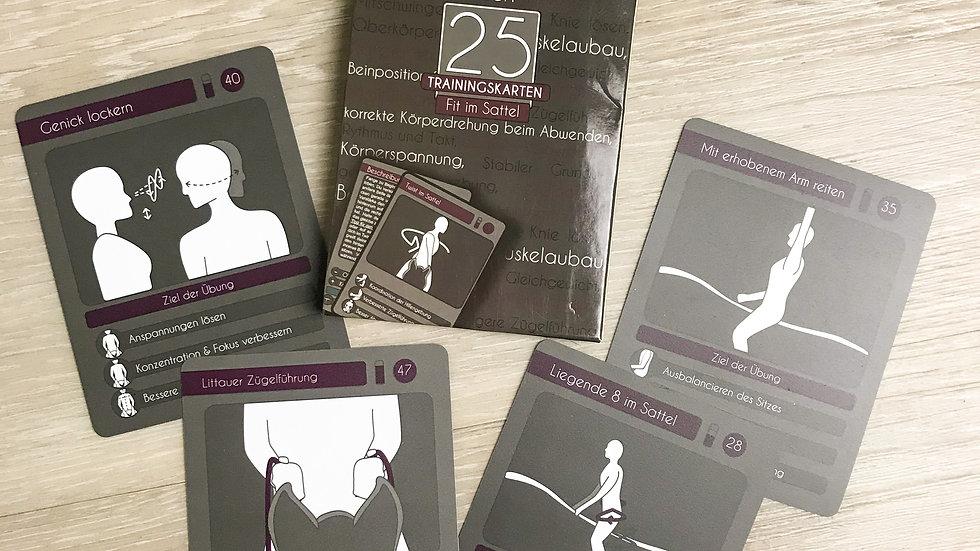 "25 Trainingskarten ""Fit im Sattel"""