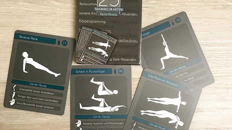 "25 Trainingskarten ""Reiterfitness"