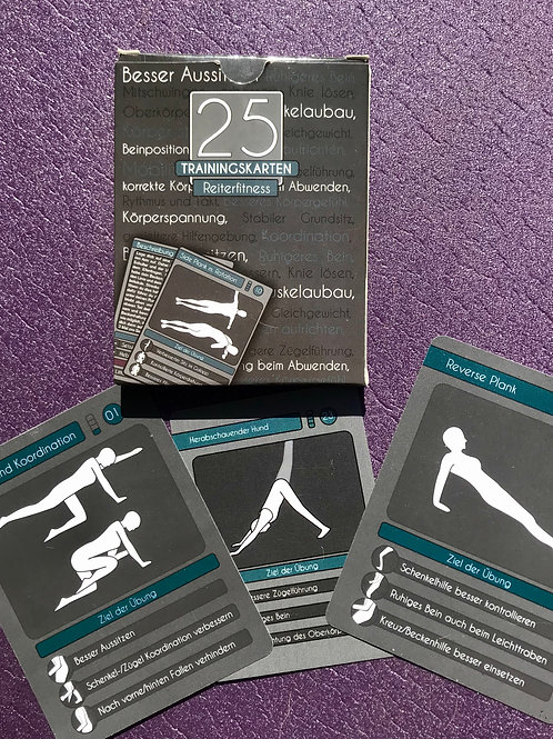 "25 Trainingskarten ""Reiterfitness"