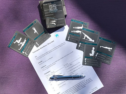Reiterfitness Trainingsplan Paket