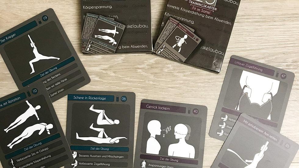 "25 Trainingskarten ""Reiterfitness+Fit im Sattel """