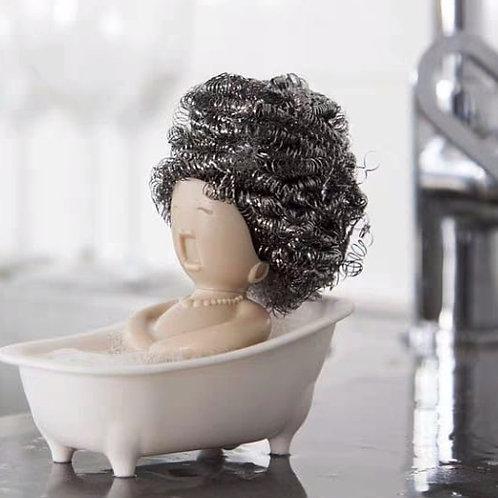 ที่วางสก็อตไบรท์คุณนายในอ่างอาบน้ำ