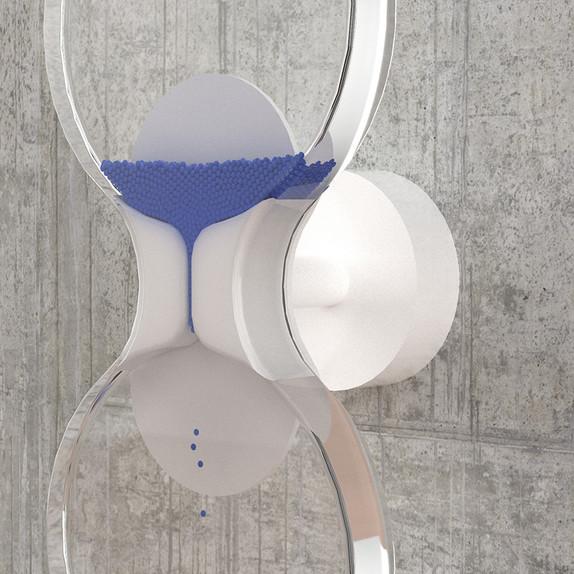 Dynamic hourglass