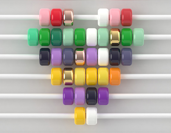 Cermaic beads