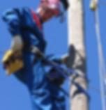 Работа на электрических столбах