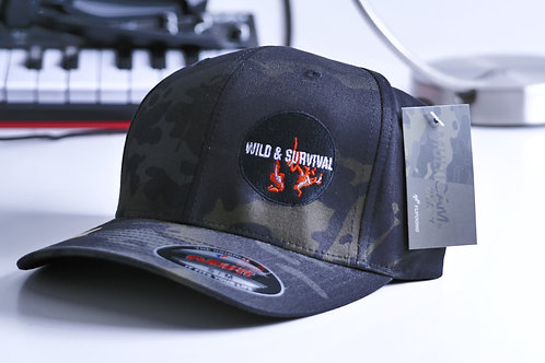 Limited Edition Multicam Flexit cap with logo