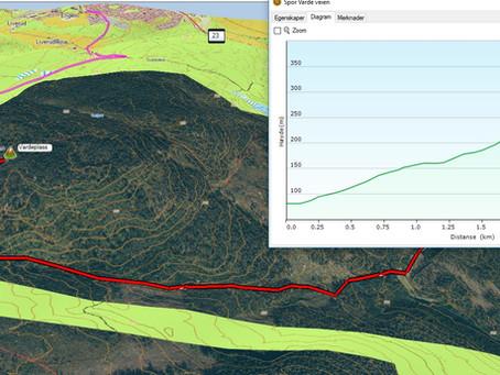Garmin Basecamp & Google Earth til orientering