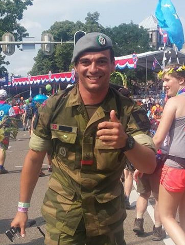One of my last days as a sjt in the army after 8 years here at Nijmegen my fourth walk
