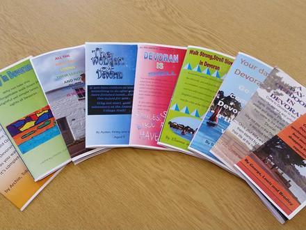 Devoran School produce their own versions of our Feock Trails leaflets
