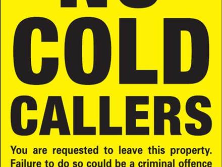 No Cold Calling Zone pilot in Carnon Downs