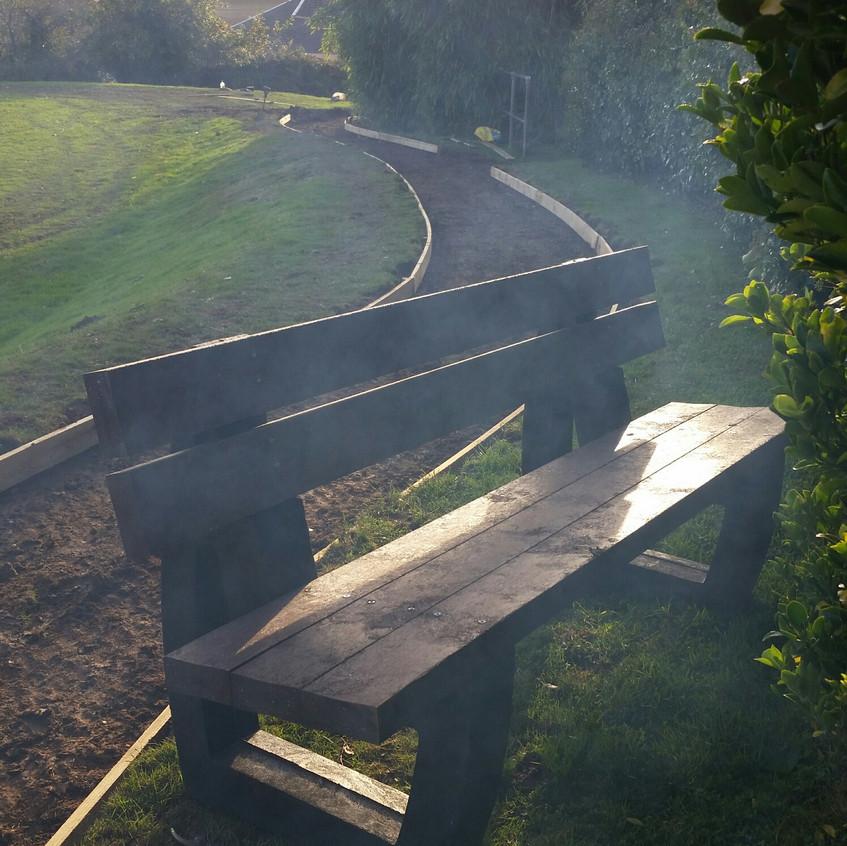 Work in progress bench