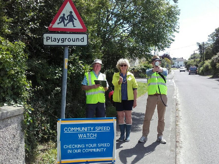 Feock parish now has its own Community Speedwatch team!