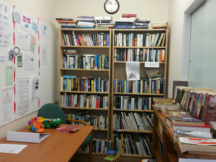 Bookswap opening hours for Summer Holidays