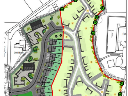Planning Application for 45 dwellings in Carnon Downs