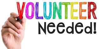 Volunteer needed!