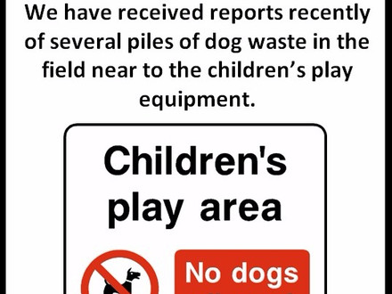 Retallack Park - No dogs please!