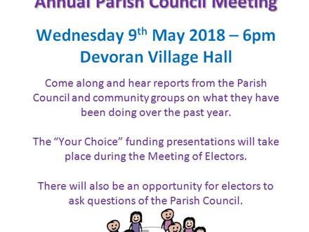 Annual Parish Meeting & Meeting of Electors