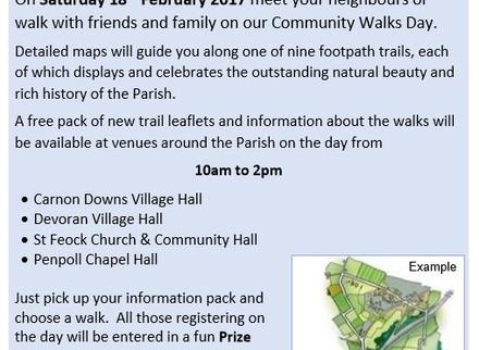 Feock Trails Day Saturday 18th February