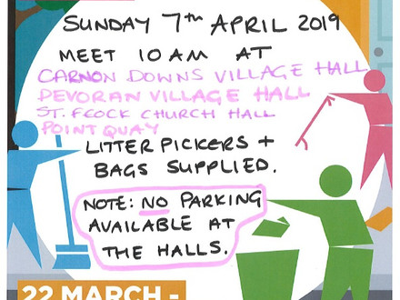 #GBSpringClean this Sunday