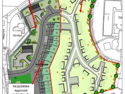 Planning applications in Carnon Downs